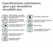 Calentador AtmoMAGplus especificaciones
