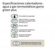 Especificaciones gama green calentadores vaillant