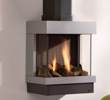 Chimeneas a gas suspendidas