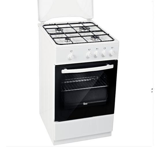 Cocina a gas butano de libre instalaci n teka fs 501 4gg w for Instalacion gas butano