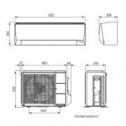 Oferta Aire acondicionado fujitsu 2500 frigorías