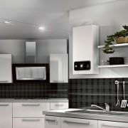 Calentador a gas natural ARISTON-FAST-PREMIUM-cocina