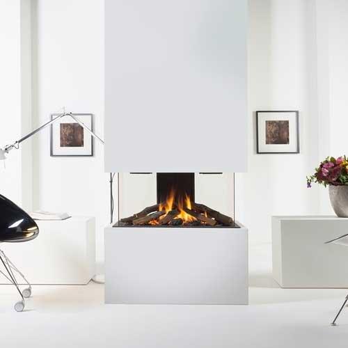 Chimenea gas natural wanders danta 800 3 caras - Chimenea de gas natural ...