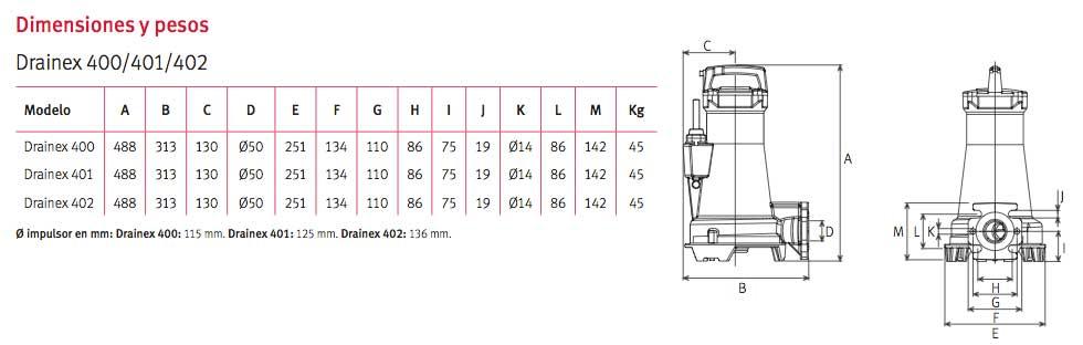 dimensiones-bomba-espa-Drainex-400