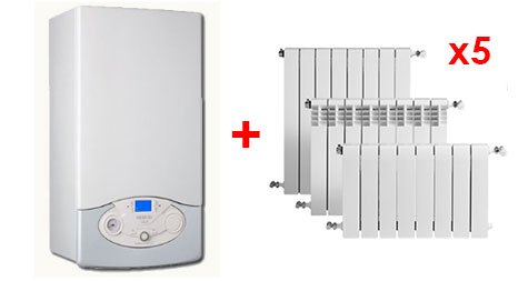 Oferta calefacción low cost Ariston