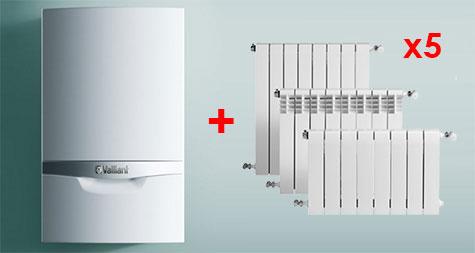Oferta calefacción low cost vaillant 5