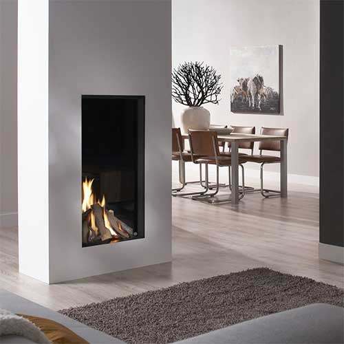 Chimenea Gas Natural DRU Excellence 50TX Tunnel 2 caras