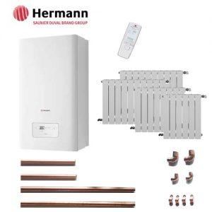 Precio Calefacción Gas Natural Micro Hermann 5 puntos 40 elementos