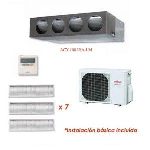 Oferta Aire acondicionado conductos ECO FUJITSU ACY100UiA-LM