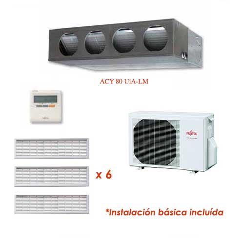Oferta Aire acondicionado conductos ECO FUJITSU ACY80UiA-LM