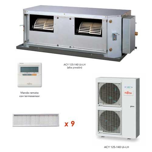 Oferta Aire acondicionado conductos PLUS FUJITSU ACY125UiA-LH