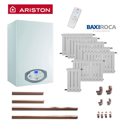 Precio Calefacción Gas Natural ECO ARISTON 8 puntos 64 elementos