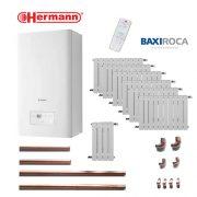 Precio Calefacción Gas Natural ECO Hermann 8 puntos 64 elementos