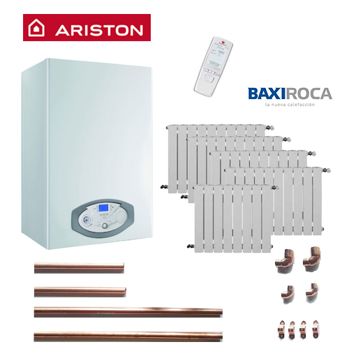Precio Calefacción Gas Natural Micro Ariston 6 puntos 48 elementos