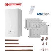 Precio Calefacción Gas Natural Micro Hermann 6 puntos 48 elementos