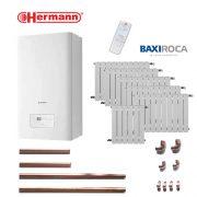 Precio Calefacción Gas Natural Micro Hermann 7 puntos 56 elementos