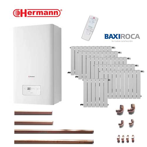 Precio calefacci n gas natural micro hermann 7 puntos 56 - Precio caldera gas ...