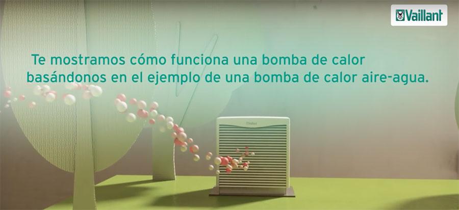 Te mostramos como funciona una bomba de calor