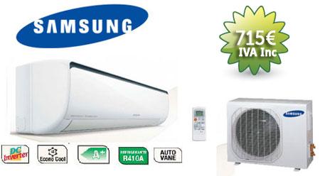 oferta aire acondicionado samsung otoño 2012