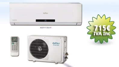 oferta aire acondicionado daitsu otoño 2012