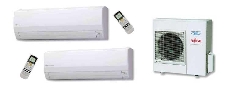 Tipos aire acondicionado multisplit