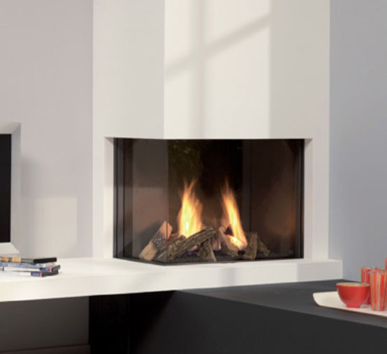 chimenea a gas dru global 60 corner bf