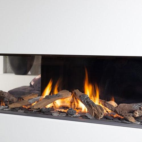 Chimenea gas natural wanders danta 1400 5 caras - Chimeneas de gas butano ...