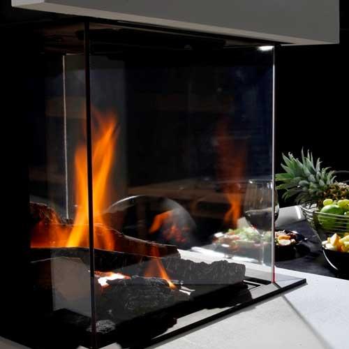 Chimenea gas natural wanders danta 50 3 caras - Chimeneas de gas butano ...