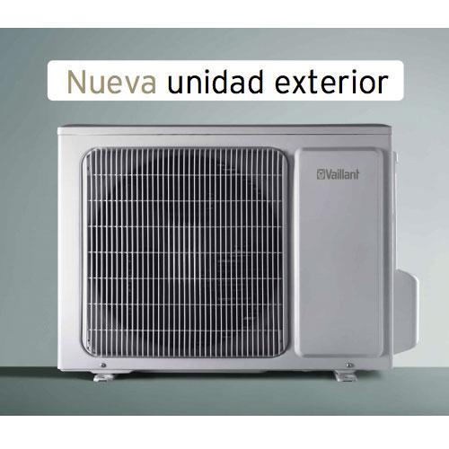 Unidad exterior split aire acondicionado vai 3