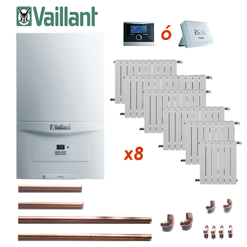 Precio Calefacción Gas Natural ECO VAILLANT PURE 8 puntos