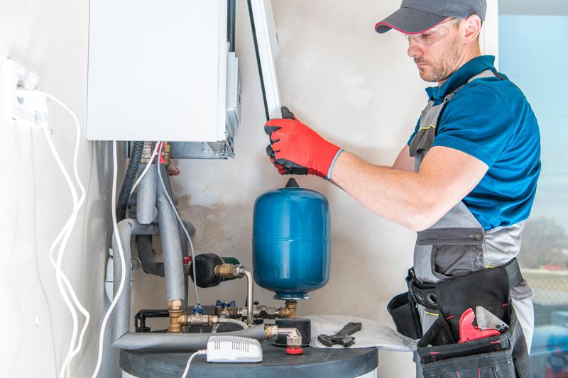 central gas heater installer YFTJZQM