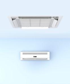 Aerotermia para calefacción, climatización y A.C.S.