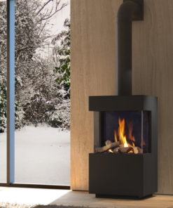 DRU Polo Freestanding gas fires
