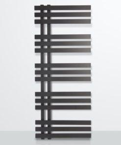 Radiador ZETA SERIES VERONA negro mate con textura 1200