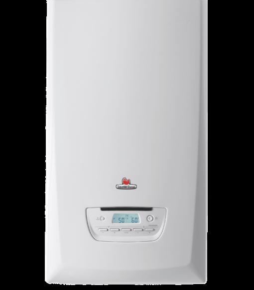 calentador a gas SAUNIER DUVAL THEMA 25 A condens mixta y sistema de acumulacion